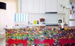LEGO kitchen by Simon Pillard and Philippe Rosetti is amazing detail