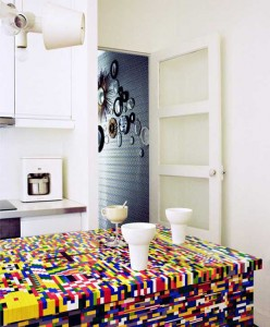 LEGO kitchens by Simon Pillard and Philippe Rosetti is amazing detail