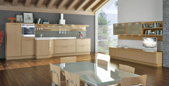 Light Oak Wooden classic materials for good wooden kitchens Deasigns