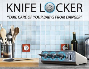 Lock thy knife save your baby from danger with UV sterilization proces