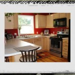 Looking Red And Grey Kitchen Idea Wall Colors With Wooden Cheap Kitchen Furniture Ideas Color Ideas For Kitchen With Light Wood Cabinets Kitchen Picture Red And Yellow Kitchen Ideas painting a kitchen ideas