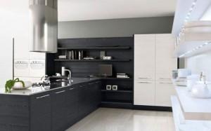 Minimalist Black & White Kitchen stylist minimalist Design by Futura Cucine