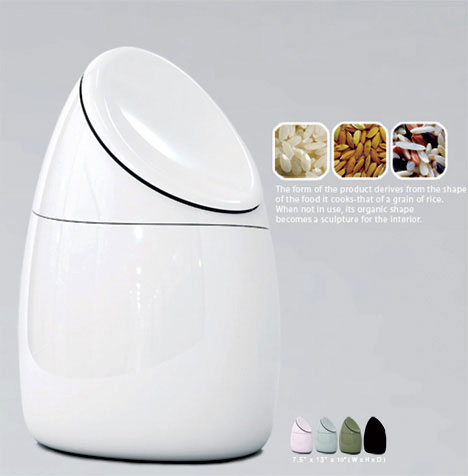 Modern Digital rice cooker for future kitchen Sang Jang Lee