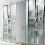 Modern Europeans glass kitchen cabinet Ernestomeda