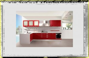 Modern Natural Red Kirchen Color Design Ideas kitchen ideas colors