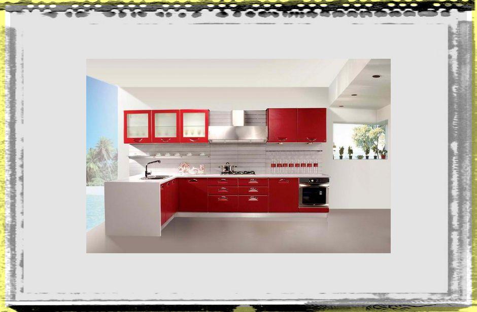 Modern Natural Red Kirchen Color Design Ideas kitchen ideas colors