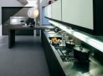 Modern Omnia kitchen use natural oak or grey oaks furniture by Bontempi