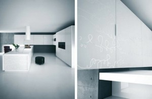 Modern Pure White Kitchens Cabinets and Accessories – Yara from Caesar