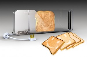 Modern cooking toaster design with heating control and nano membrance