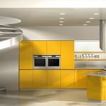 Modern kitchen Effeti Available Blue kitchen designed by Giancarlo Vegni