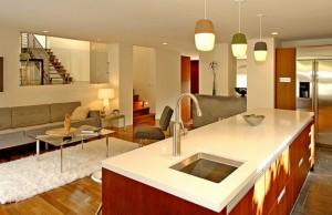 Modern kitchen countertop design