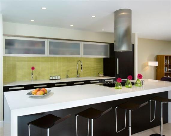 Modern kitchen countertop design kitchen design ideas at hote - Kitchen counter top design ...