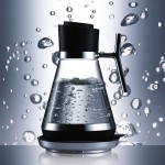 Modern kitchens product furniture design glass kettle