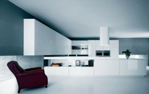 Moderns Pure White Kitchen Cabinets and Accessories – Yara from Caesar