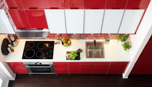 Modular Kitchen Cabinets and Islands with affordable prices from Ikea
