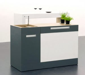 Modular Kitchen German take one square meter for very Small Kitchen