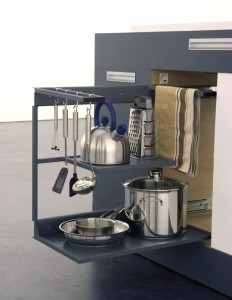 Modular Kitchens German take one square meter for very Small Kitchen