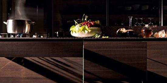 New Wooden Kitchen make warm and friendly by Valcucine