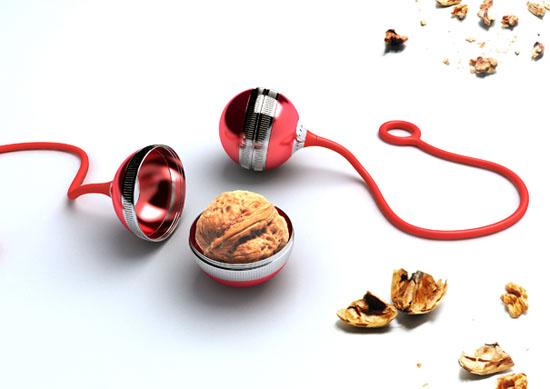 New moderns kitchen furniture walnut cracker yoyo
