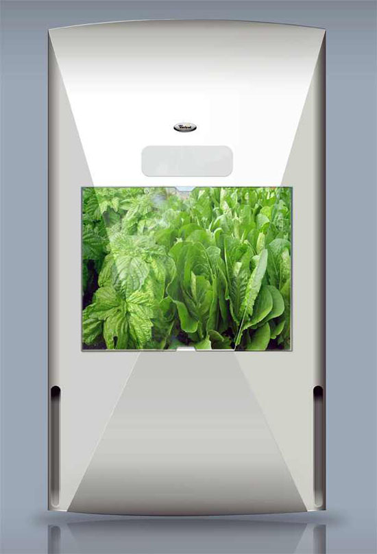 New refrigerator design with green fortune & whirlpool