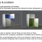 New refrigerators design with save minimizing system