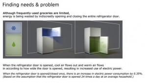 New refrigerators design with save minimizing system