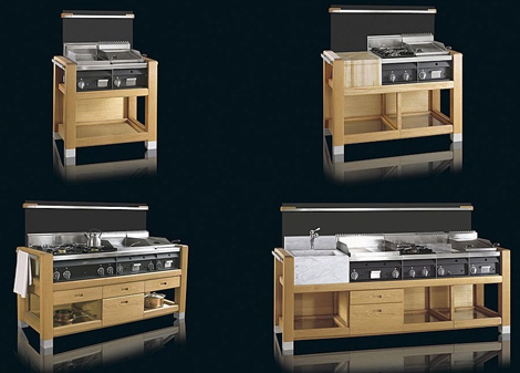 Outdoor Modular Kitchens bring style barbeque by Jcorradi 8.7.10