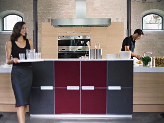 Pure modern kitchens from Poggenpohl a modernism and purism kitchen design ideas