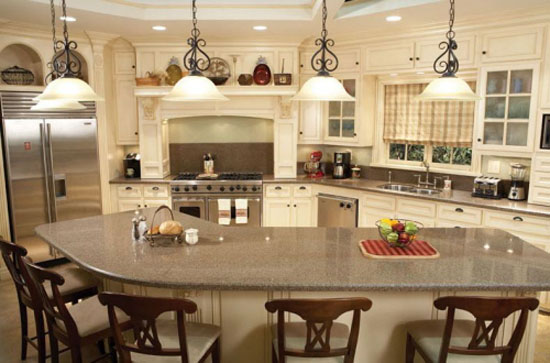 Quartz durability for countertops prevent of chipping and cracking of the stone