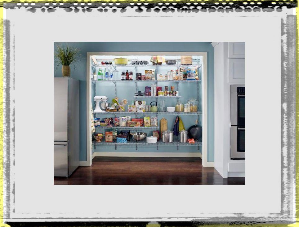 RX Press Kits_ClosetMaid Pantry kitchen ideas accessories