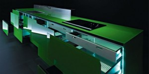 Recyclable Kitchen less waste of resources and energy by Valcucines