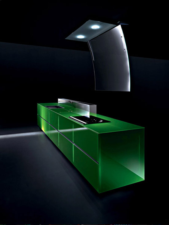Recyclable Kitchens less waste of resource and energy by Valcucine