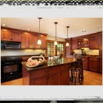 Remodeling Kitchen In Wooden Interior Design_Brown Varnished Wooden Layer Kitchen Island Ideas remodeling kitchen ideas