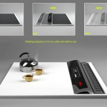 Rolling out with heats can prepare warm meal by Electrolux Invico