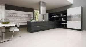 Romantic kitchen with LED integrated by Futura Cucine