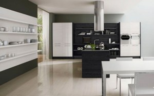 Romantic kitchens with LED integrated by Futura Cucine