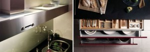 Ruby Teak Kitchen Designs from Hanssem Korean kitchen designer