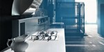 Rustic Kitchens Designs with hygienic material by Valcucine