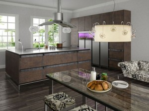 Rustic kitchen cabinets decorating ideas simple and nostalgic design by Toyo Kitchens