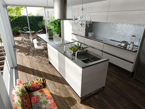 Rustic kitchens cabinets decorating ideas simple and nostalgic design by Toyo Kitchen