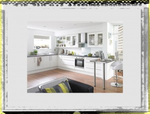 Saving Space Kitchen Ideas White