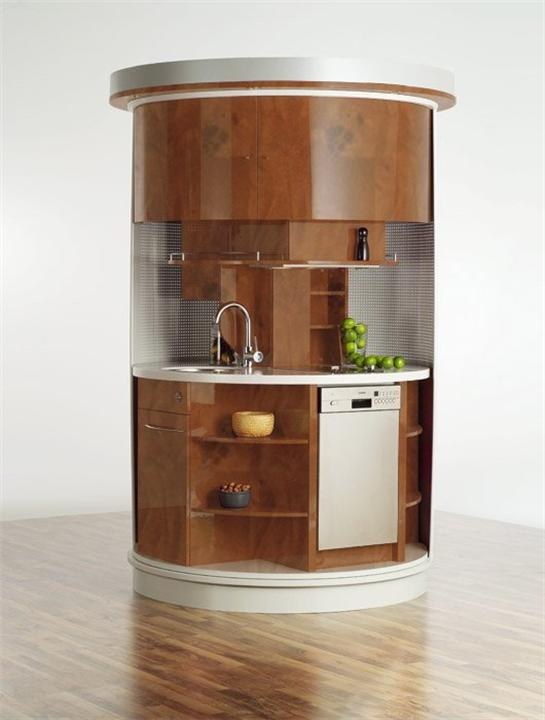 Small Kitchen Compact circle Concepts for small kitchen space