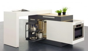 Small kitchen design appliances package design