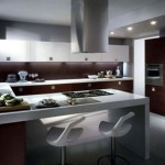 Small kitchen design in outdoor themes with several choice of design