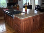 Square kitchen island suitable U shaped or L shaped kitchens