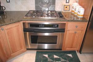 Stainless steel Kitchen Stove