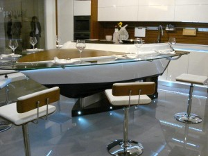 Stunning Boat Kitchen the most spectacular kitchen idea for large interior