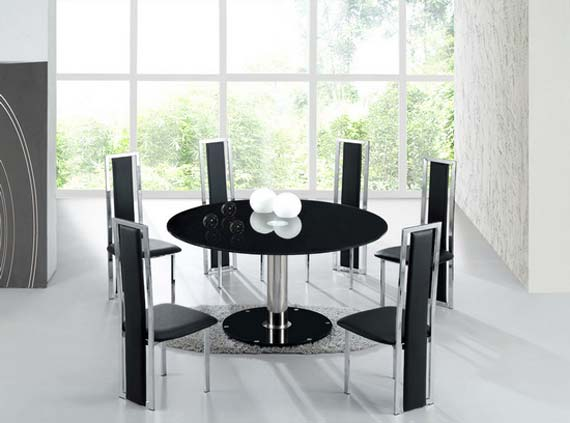 Amazing Black Round Dining Room Table Ideas 570 x 423 · 29 kB · jpeg