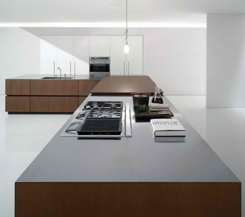 Stylish Italian Kitchen Island Designs has presented new cube collection