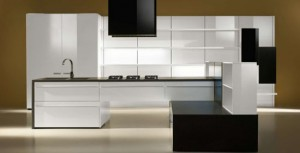 Swarovski Crystal in modern kitchen By Auro offers high quality products